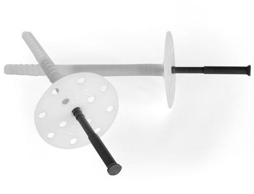 Warum werden Scheiben-Dämmstoffdübel zur Befestigung von Isolierplatten verwendet?